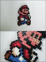 Super Mario 3 Mario (walking) magnet by 8bitcraft