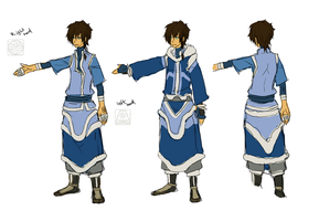 RC - Currently nameless char design sheet by Irfaune