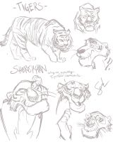 Tigers by ComickerGirl
