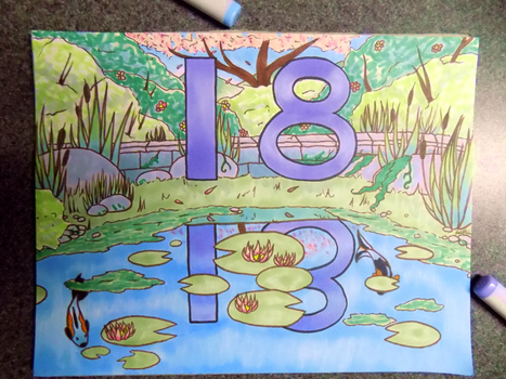 [Commission] 18 Pond by Joanna-artist