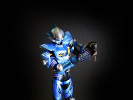 Kamen Rider SH Figuarts Abyss by Digger318