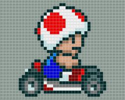 Toad Kart Tiled by drsparc