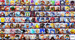 The Ultimate Smash Bros Roster by Rasic1213