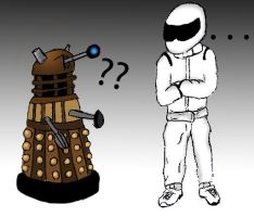 Dalek and Stig by Anime-Reality