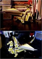 Origami Dragon by stuk-in-reality