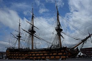 HMS Victory by BlonderMoment