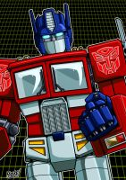 Optimus Prime by SeanRM