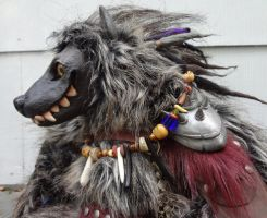 Gnarl the Gnoll original doll by missmonster