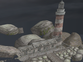 DEAR ESTHER - LIGHTHOUSE by Oo-FiL-oO