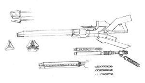 Laser rifle concept by RtotheYO