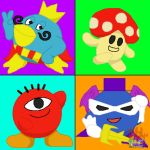 Friends From Kirby's Home Planet by embercoral