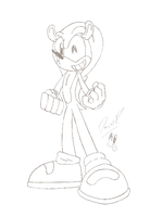 Mighty the Armadillo by FritzyBeat
