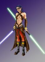 Miraluka Jedi Girl by Ahnirr