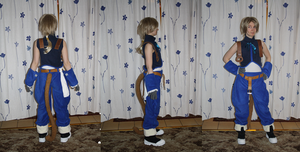 Zidane Tribal cosplay WIP2 by Grethe--B