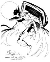 NORM BREYFOGLE CLUB BATMAN20TH by Club-Batman