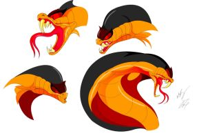Jafar Cobra Face Color by GunZcon