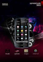 Psd - NOKIA 5800 by madexdesigns