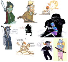 ALWAAAYS - iscribble dump by yubishines