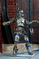 Zombie Mandolorian 1 by TheProsFromDover