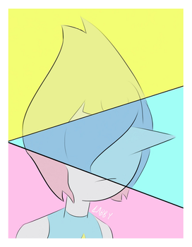 Yellow, Blue, and Pink by ArbitraryLabby