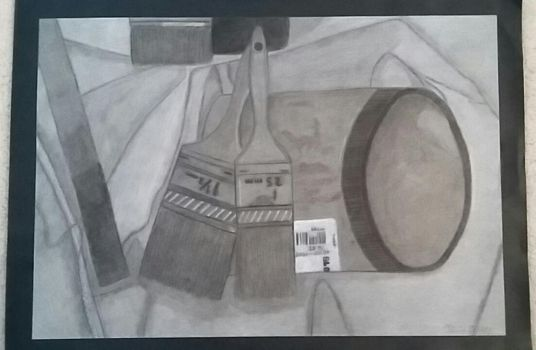 Charcoal Still Life by The-Snail-Lady