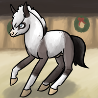 Winter Winds HaRPG-Equestians Horse Show - Liberty by luckdown