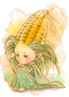 Forlorn Corn Sprite by aruarian-dancer