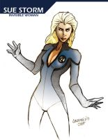 Sue Storm by ginoroberto