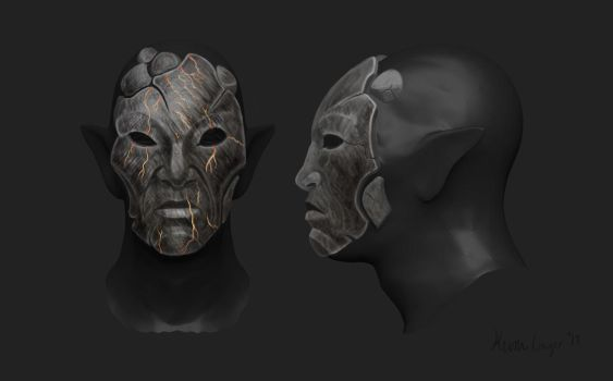Skywind - Ash Mask Concept by Natterforme