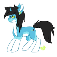 Pony for a contest yo by Lodidah