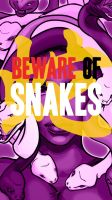 Beware of Snake (purple) - iPhone5 Wallpaper by yumgsta