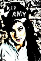 R.I.P Amy Winehouse by masked-elf
