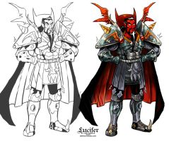Lucifer first armour by Garvals