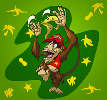 Diddy Kong by joshcorris