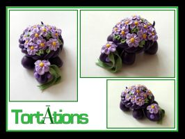 Blossom the Tiny Tort by Tortations
