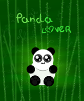 Panda Lover by Jhoue