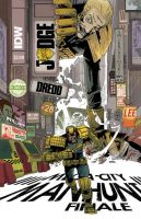 IDW JUDGE DREDD #28 Cover by mytymark