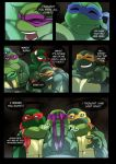 TMNT (fanmade) Same as it never was Aftershock _60 by FleshCreature