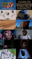 Los guinos de Dragon Ball GT a Star Wars by 3D4D