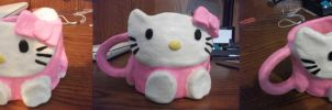 Hello Kitty Mug by ItsJustJessie