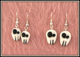 ..::Skull Earrings::.. by Brina83