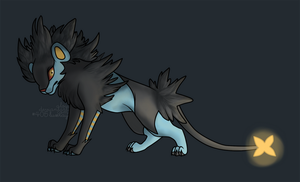 luxray glow by alou