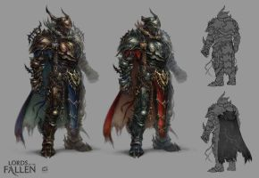 LOTF demonic warrior by len-yan