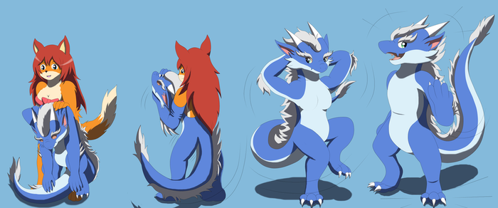 Comission: Bheni Suit (Eastern Dragon TF TG) by Avianine