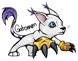 Gatomon V2 by Brittlebear