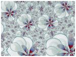 FLORAL FABRIC PRINT by roup14