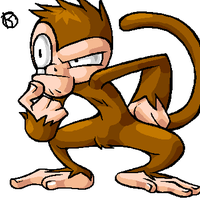 Its a monkey by rongs1234