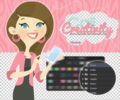 CallCreativity-PSD,PNG by Naoomy