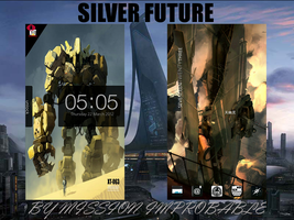 Silver Future by Wasteandwanting