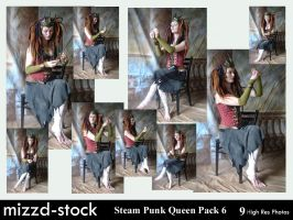 Steam Punk Queen Pack 6 by mizzd-stock